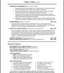 It Director Resume Samples Technical Resume Technical Writer Experience Resume Technical