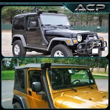 jeep yj snorkel snorkel air intake system for 99 06 jeep wrangler 4 0l tj yj 4x4 4wd