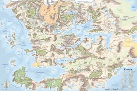 Dnd World Map by Map Of All Faerun