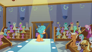 image everypony cheers for tender taps s6e4 png my little pony