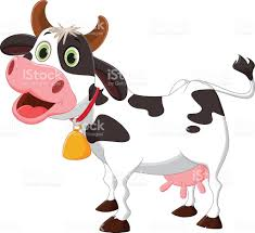 happy cow cartoon stock vector art 535203762 istock