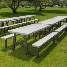 Lifetime Folding Picnic Table 60030 29 X 72 Rectangular White W Frame Folding Picnic Table
