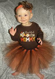thanksgiving princess baby toddler tutu skirt orange and brown