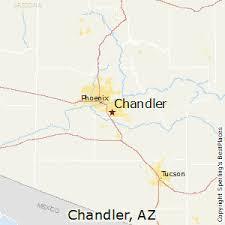 map of chandler az comparison glendale arizona chandler arizona