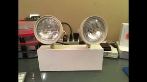 sure lites emergency lights review of my broken sure lites emergency light youtube