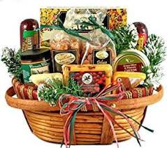 gourmet food gift baskets hometown gourmet christmas gift basket of