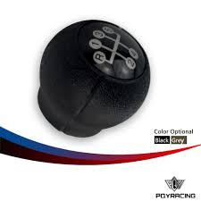 pqy racing gear shift knob 5 speed manual for opel astra corsa