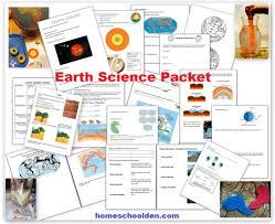 Geologic Time Scale Worksheet Earth Science Packet Layers Of The Earth Plate Tectonics