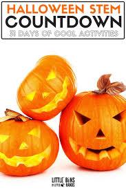 Halloween Bubble Lights by Halloween Stem Activities 31 Day Countdown