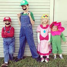 Mario Halloween Costumes Girls Diy Mario Luigi Costumes Maker Mama