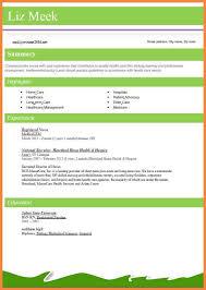best resume format for nurses standard resume format resume exles