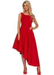 goddiva dresses goddiva asymmetric hem midi dress