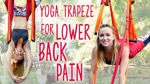 Home Yoga Routine by Back Pain Relief With Inversion Therapy Yoga Trapeze Tutorial At