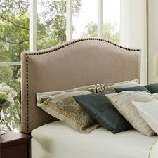 Tufted Linen Headboard by Bedroom Astonishing Bed Combined With Alluring Linen Headboard