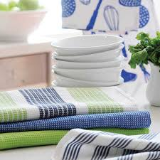 Waffle Weave Kitchen Towels by Cotton Kitchen Linen Manufacturer From Erode