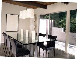 contemporary dining room lighting design ideas