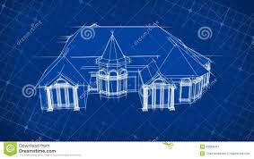 blueprint house design 3d stock video image of mesh 43654441