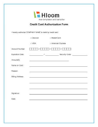 Sle Credit Card Charge Dispute Letter credit card authorization forms hloom