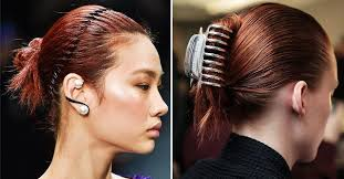 90s hair accessories backstage sheet the autumn 2018 beauty trends you ll want