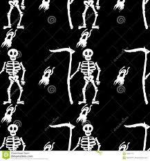 background pattern halloween death skull halloween skeleton illustration background pattern