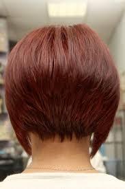 short inverted bob haircut back view hairstyles and haircuts