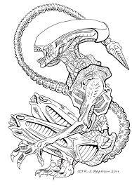 awesome alien tattoo design cool tattoos pinterest alien