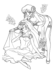 sailor moon coloring pages to print pretty sailor in a coloring