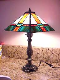 Stained Glass Light Fixtures Stained Glass Table Lamp Shades Lightings And Lamps Ideas