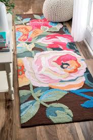 rugs bright floral rugs amazing pink flower rug a bright pink