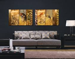 leopard print home decor extraordinary 70 animal print wall art design inspiration of best