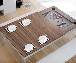 dining table converts to pool table billiards dining table