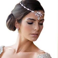 forehead bands beauty of yester year forehead bridesmaid hair accessories