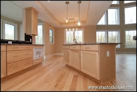 Kitchen Colors With Maple Cabinets Raleigh Custom Kitchen Color Trends Light Cabinets Dark Countertops