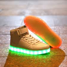 size 5 light up shoes saturn fluo shoes