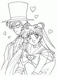 coloring pages sailor moon coloring pages the violin coloring