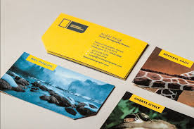 creative business cards national geographic identity redesign