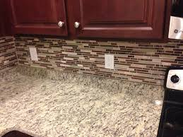 stacked slate backsplash how to painting cabinets corian