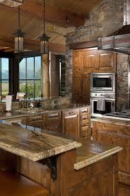 kitchen backsplash ideas with brown cabinets 50 popular brown granite kitchen countertops design ideas