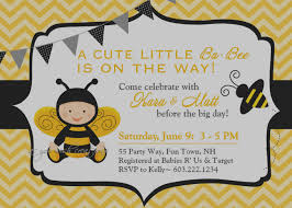bee baby shower gallery bumble bee baby shower invitation template bumble bee baby