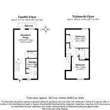 Wisteria Floor Plan by Wisteria Apartments Chatham Place Hackney E9 2 Bed Flat 575 000