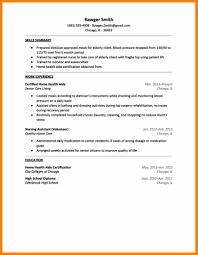 Elderly Caregiver Resume Sample Senior Home Care Resume Contegri Com