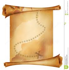 Treasure Map Clipart Old Treasure Map Stock Photography Image 3292102