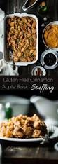 gluten free thanksgiving side dishes apple raisin easy gluten free stuffing food faith fitness