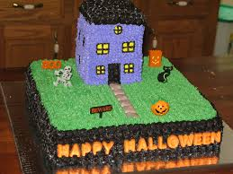 haunted house halloween cake super sweet tooth