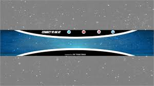 free youtube banner layout 11 free youtube banner templates free sle exle format