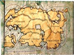 Elder Scrolls Map East Empire Shipping Map Elder Scrolls Fandom Powered By Wikia