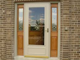 Frame Exterior Door Exterior Door With White Wooden Frame And Fiberglass Insert Plus