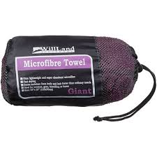 travel towel images Willland outdoors micro fibre purple travel towel walmart canada jpg