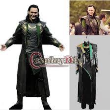 Avengers Halloween Costume Customized Cosplay Costume Avengers Loki Cosplay Costume
