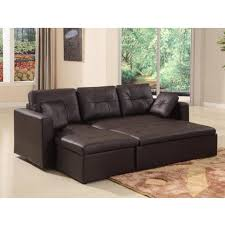 Leather Sofa Bed Leather Sofa Beds Roselawnlutheran